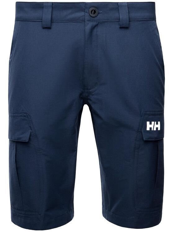 Helly Hansen Helly Hansen Шорти от плат Hh Qd Cargo 54154 Тъмносин Regular Fit