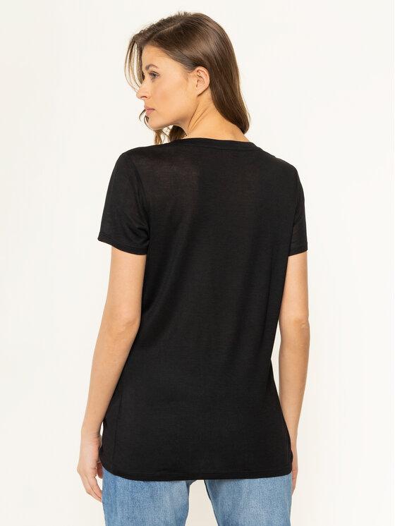 Trussardi Jeans Trussardi Jeans T-Shirt 56T00242 Μαύρο Regular Fit