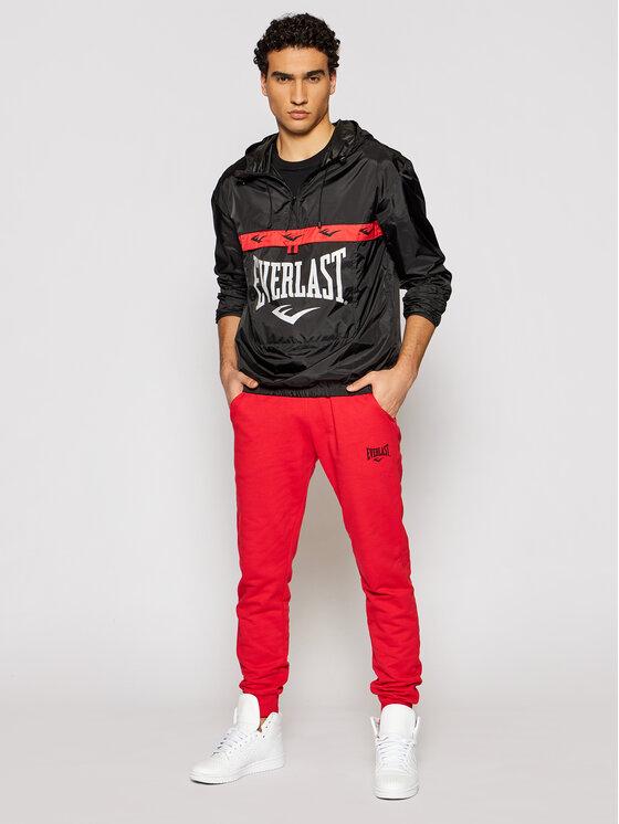 Everlast EVERLAST Spodnie dresowe 789610-60 Czerwony Regular Fit