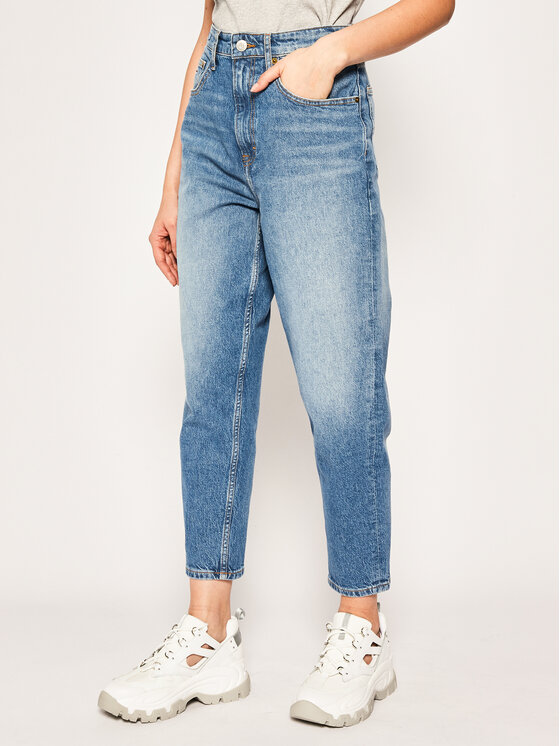 Tommy Jeans Tommy Jeans Дънки тип Regular Fit Mom DW0DW08112 Син Tapered Fit