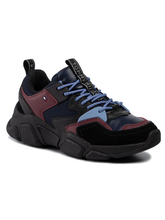 Tommy Hilfiger Tommy Hilfiger Sneakers Cosy Chunky Sneaker FW0FW04293 Bleumarin