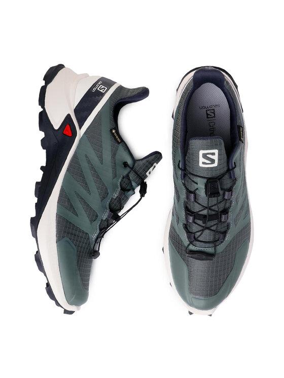 Salomon Salomon Buty Supercross Gtx GORE-TEX 409542 29 V0 Zielony