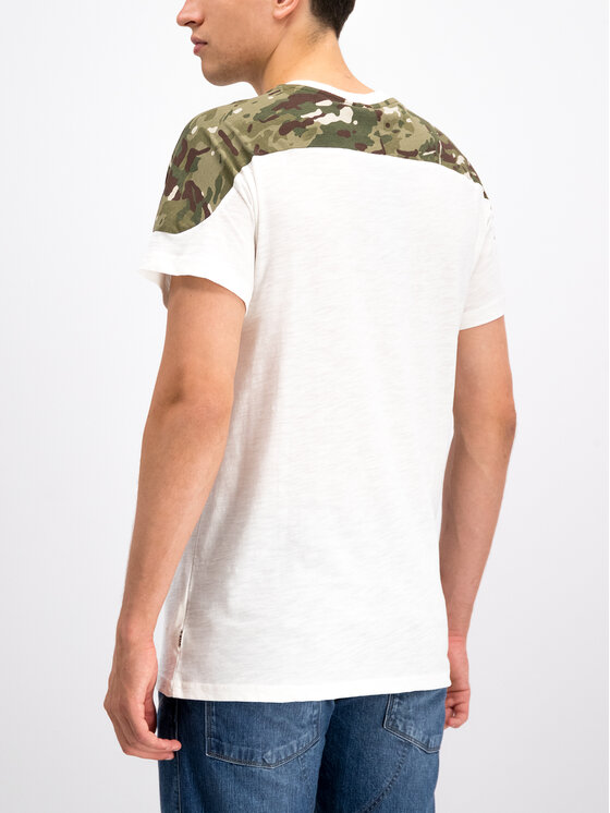 G-Star Raw G-Star Raw Тишърт Graphic 17 D12872-B134-111 Бял Loose Fit
