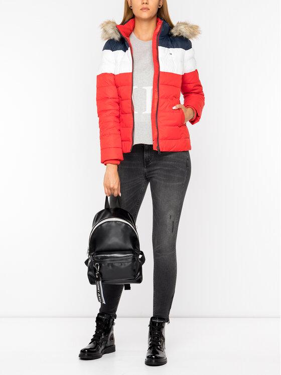 Tommy Jeans Tommy Jeans Μπουφάν πουπουλένιο Colour-Blocked DW0DW07363 Έγχρωμο Slim Fit