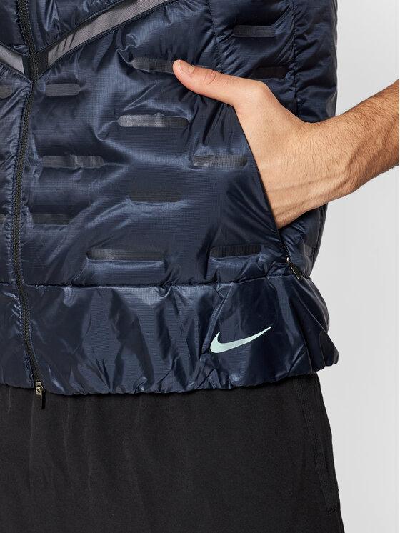 Nike Nike Kamizelka Aeroloft CU7797 Granatowy Standard Fit