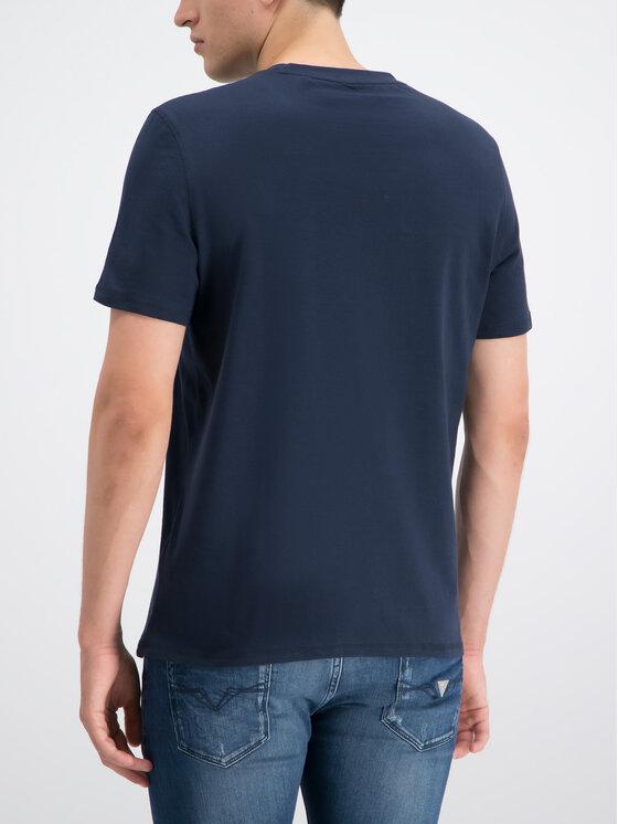 Guess Guess T-Shirt M93I46 K8FQ0 Tmavomodrá Regular Fit