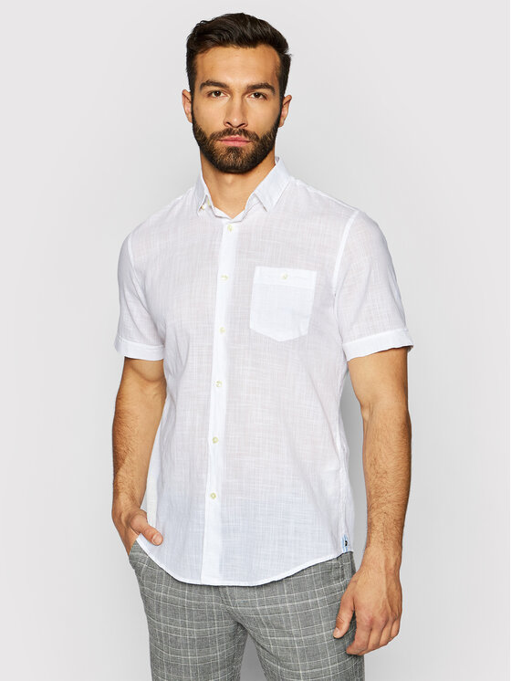 Pierre Cardin Marškiniai 53916/000/27175 Balta Modern Fit