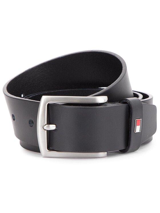 Tommy Hilfiger Tommy Hilfiger Ζώνη Ανδρική New Denton 3.5 Belt E3578AI208 85 Μαύρο