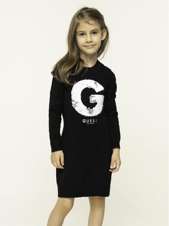 Guess Guess Ежедневна рокля J93K56 Z1U30 Черен Regular Fit