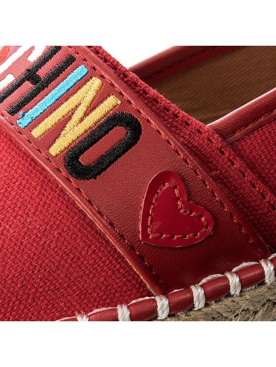 LOVE MOSCHINO LOVE MOSCHINO Espadrillas JA10113G15IE0500 Rosso