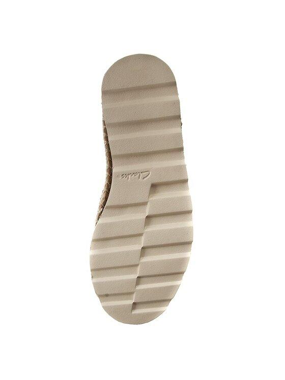 Clarks Clarks Pantofi Damara Chic 261258704 Alb