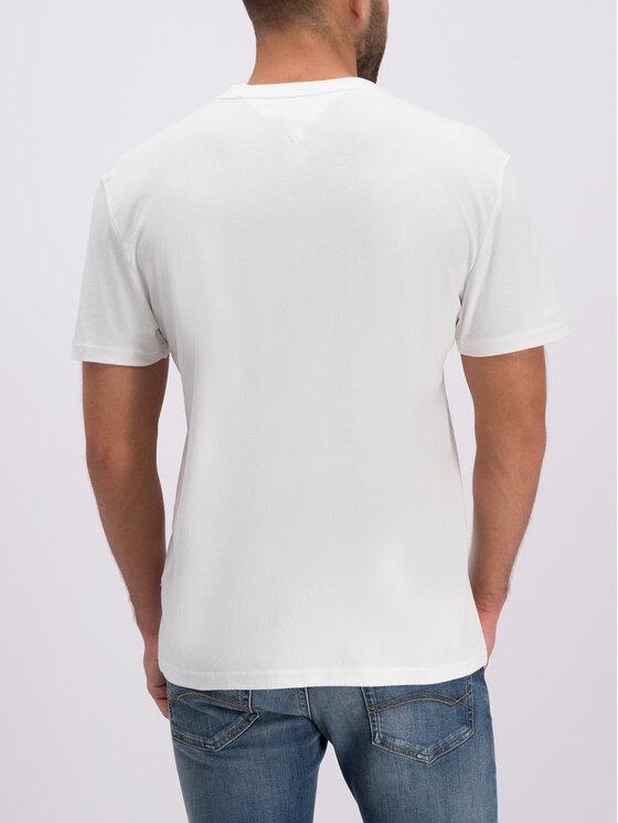 Tommy Jeans Tommy Jeans T-Shirt DM0DM06508 Biały Regular Fit