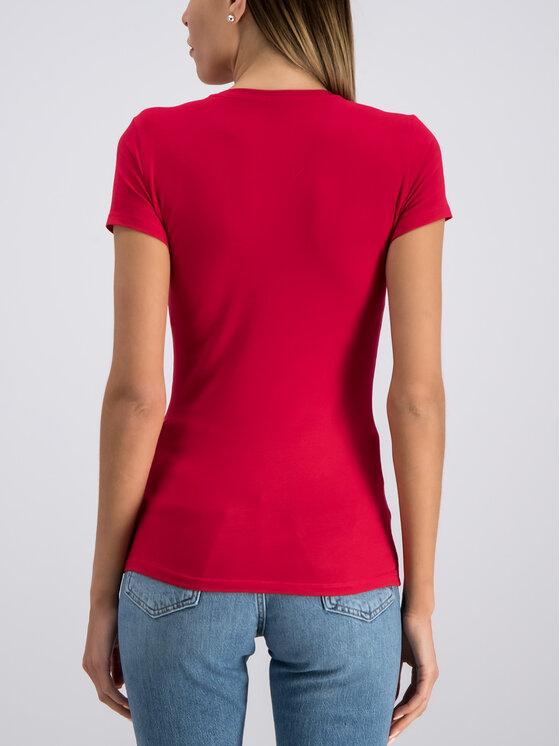 Guess Guess T-Shirt W93I72 J1300 Rot Slim Fit
