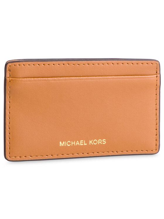 MICHAEL Michael Kors MICHAEL Michael Kors Голям дамски портфейл Money Pieces 32S9GF6D9Y Кафяв