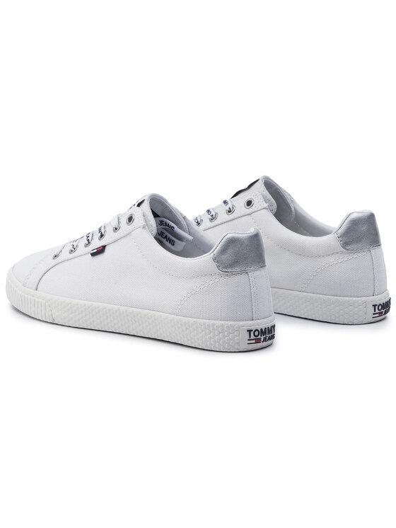Tommy Jeans Tommy Jeans Гуменки Casual Sneaker EN0EN00602 Бял