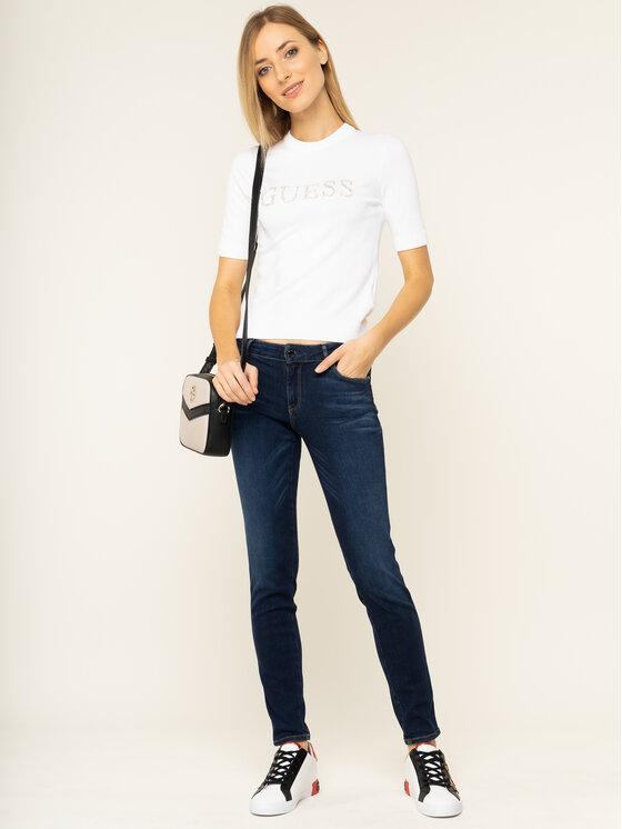 Guess Guess Bluse Olivia W01R91 Z2760 Weiß Slim Fit