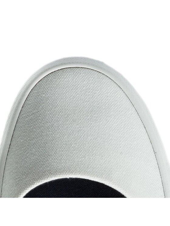 Lacoste Lacoste Sneakers aus Stoff Lancelle Ballerina 118 1 Caw 7-35CAW0035407 Weiß