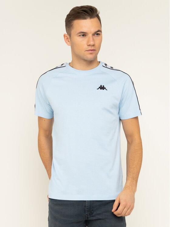 Kappa Kappa T-Shirt Finley 306013 Μπλε Regular Fit