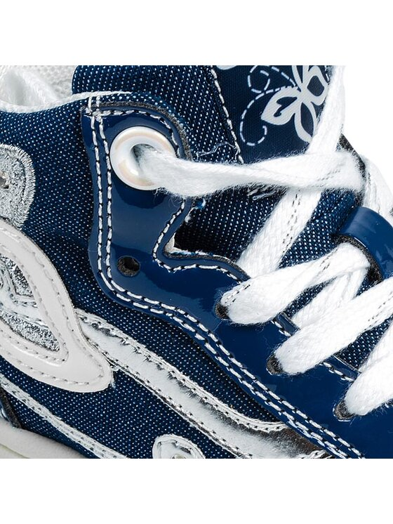 Geox Geox Šnurovacia obuv J Creamy C J42L5C 0ASHH C4005 Modrá