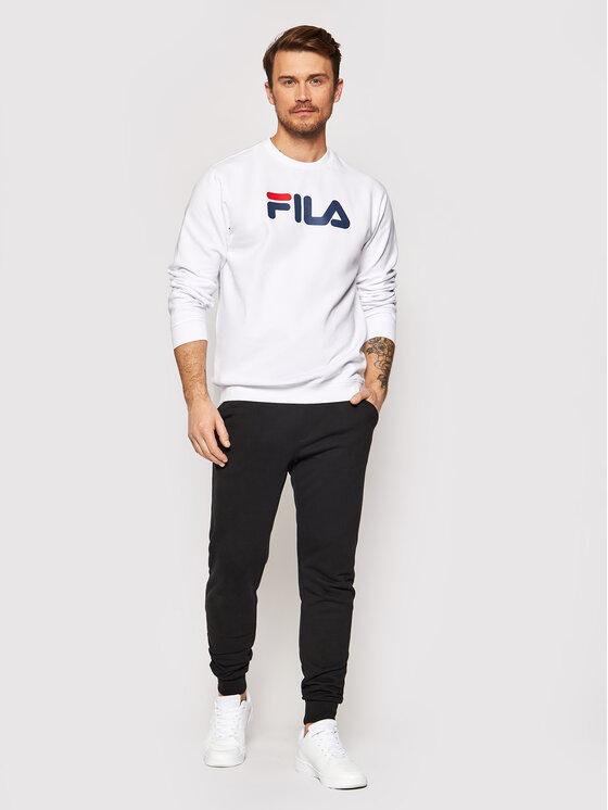 Fila Fila Felpa Unisex 681091 Bianco Regular Fit