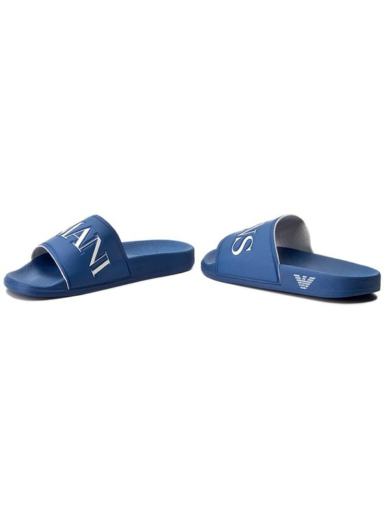 Armani Jeans Armani Jeans Mules / sandales de bain 935097 7P440 15232 Bleu marine