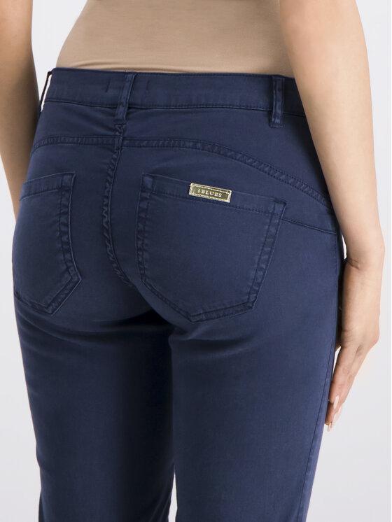 iBlues iBlues Spodnie materiałowe Lia 71311392 Granatowy Regular Fit