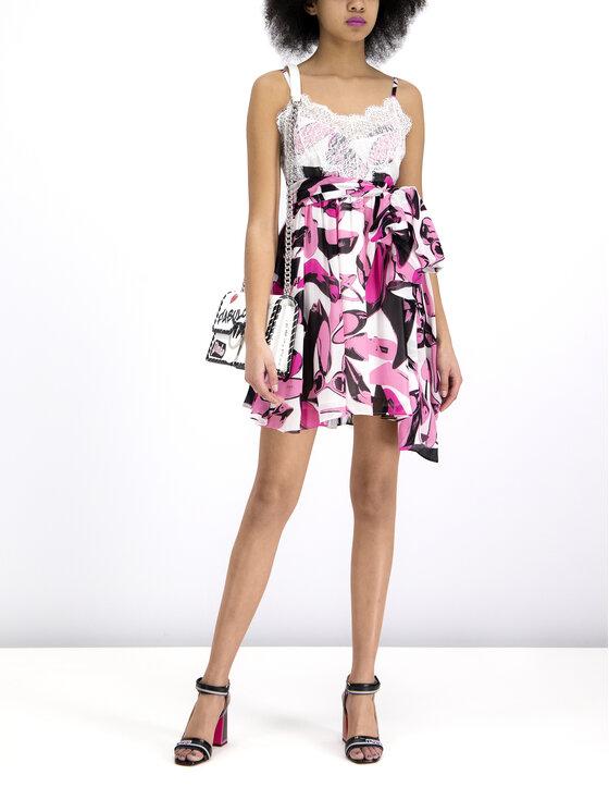Pinko Pinko Φόρεμα καλοκαιρινό PE 19 UNQS 3U10HQ 7502 Ροζ Regular Fit