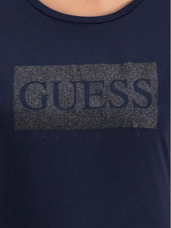 Guess Guess T-shirt W93I80 K7WS0 Noir Regular Fit
