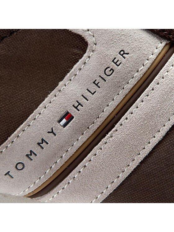 Tommy Hilfiger Tommy Hilfiger Sneakersy Branson 5C FM56818973 Brązowy