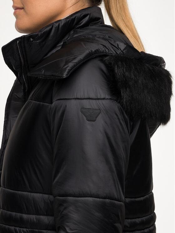 Emporio Armani Emporio Armani Płaszcz zimowy 6G2L77 2NUNZ 0999 Czarny Regular Fit
