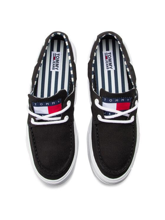 Tommy Jeans Tommy Jeans Mokaszin Hybrid City Sneaker EM0EM00200 Fekete