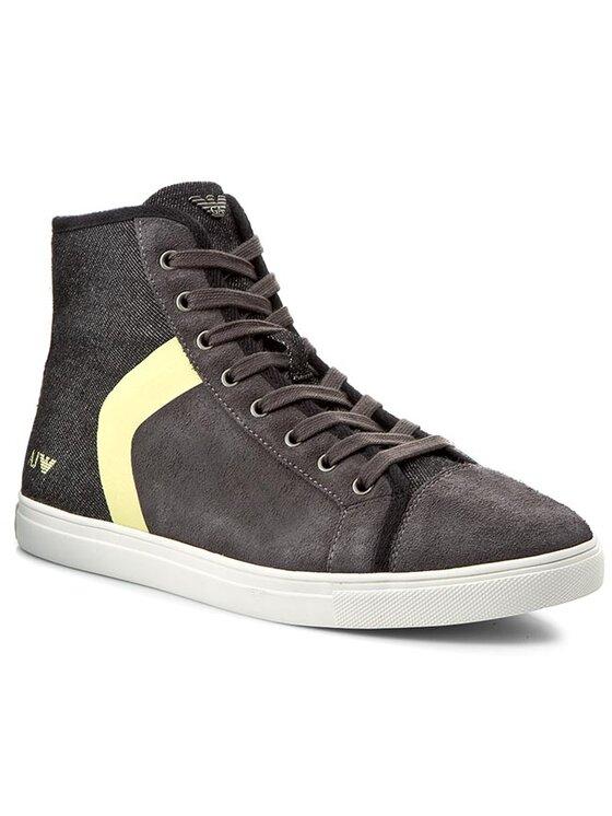 Armani Jeans Armani Jeans Μποτίνια A6569 46 J2 Γκρι
