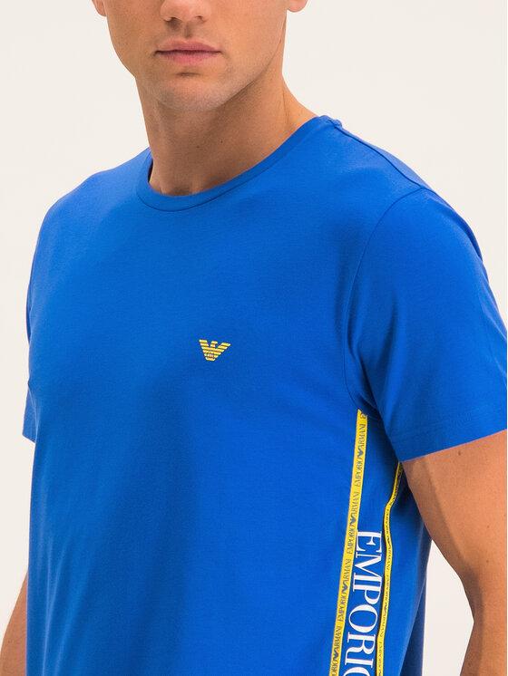 Emporio Armani Emporio Armani T-Shirt 211813 9P462 24333 Niebieski Regular Fit