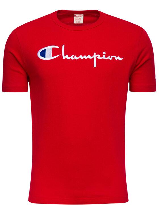 Champion Champion Tričko 210972 Červená Regular Fit