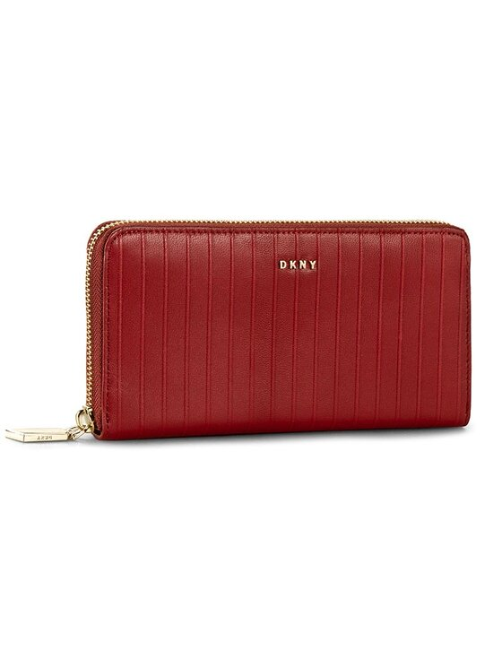 DKNY DKNY Nagy női pénztárca Slgs-Gansevoort-Pinstripe R362280606 Piros