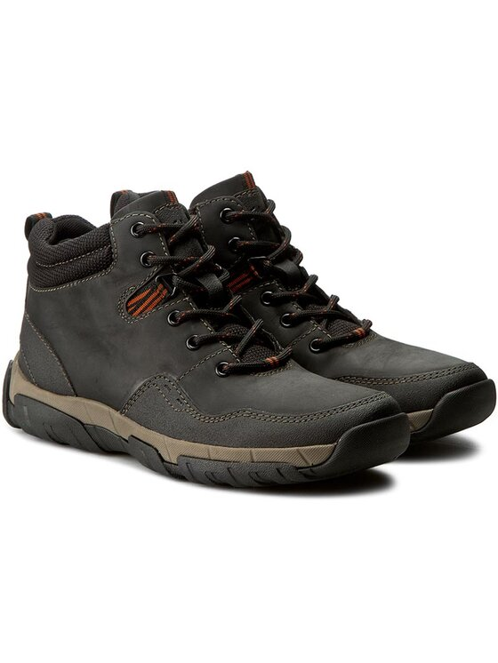 Clarks Clarks Kotníková obuv Walbeck Top 261219347 Černá