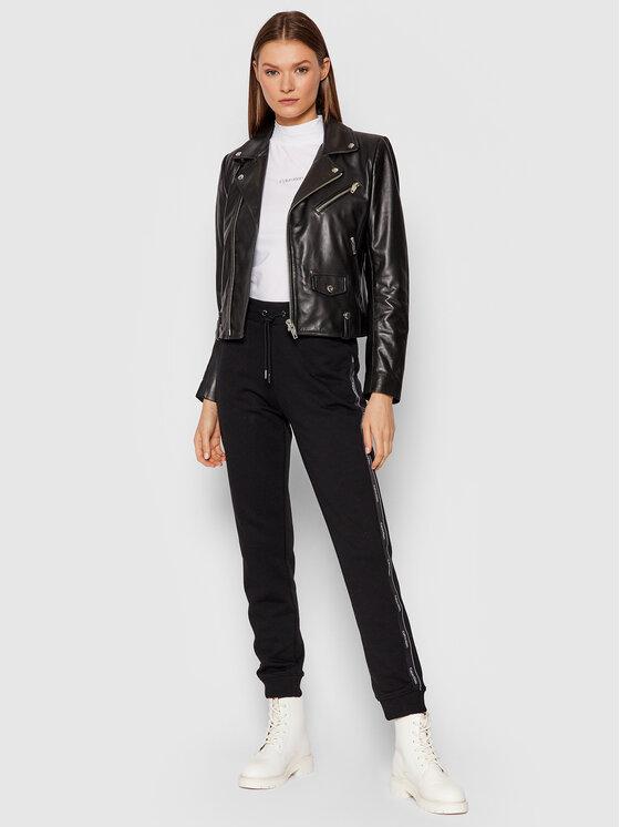 Calvin Klein Calvin Klein Блуза Mock K20K203114 Бял Slim Fit
