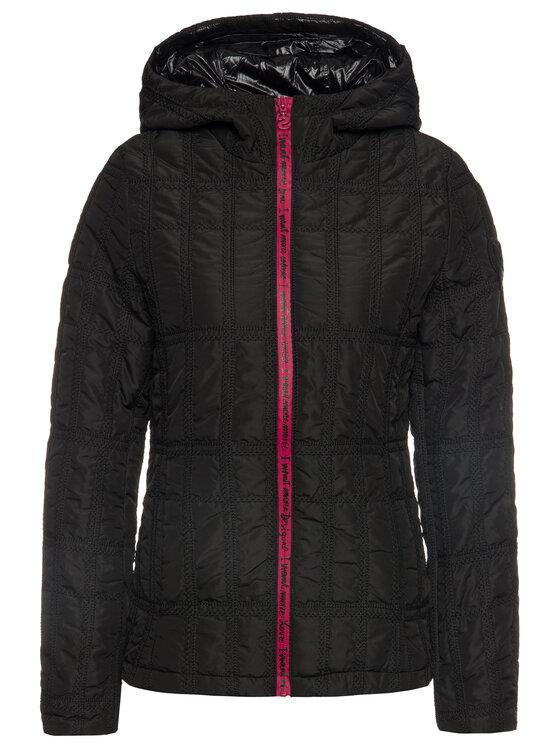 Desigual Desigual Átmeneti kabát 19WWEWBW Fekete Regular Fit