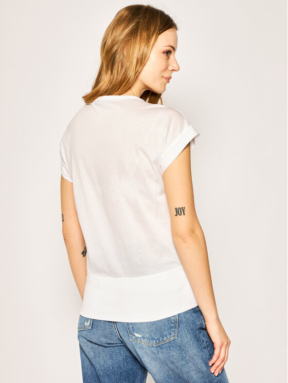 G-Star Raw G-Star Raw T-shirt Noxer Boat D16277-C109-110 Bianco Regular Fit