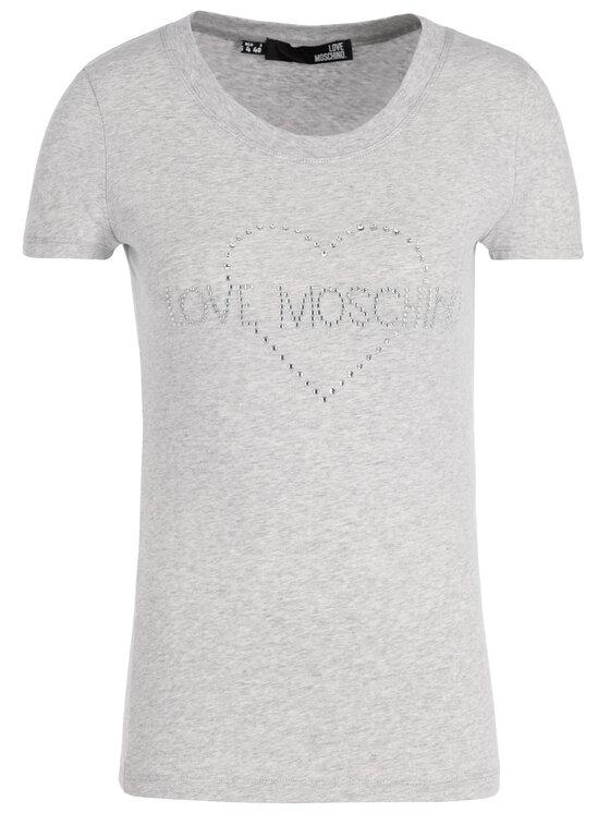 LOVE MOSCHINO LOVE MOSCHINO Тишърт W4B194TE2065 Regular Fit