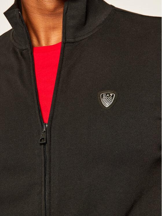EA7 Emporio Armani EA7 Emporio Armani Sweatshirt 8NPMB8 PJ05Z 1200 Schwarz Regular Fit