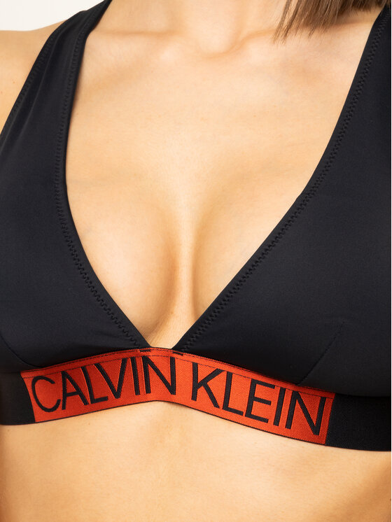 Calvin Klein Swimwear Calvin Klein Swimwear Góra od bikini KW0KW00844 Czarny