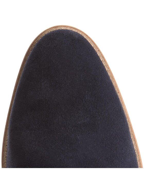 Tommy Hilfiger Tommy Hilfiger Félcipő Essential Suede Double Monk Shoe FM0FM01528 Sötétkék