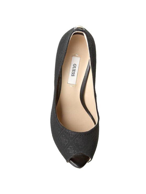 Guess Guess Обувки на ток Ansina4 FL4AS4 FAL07 Черен