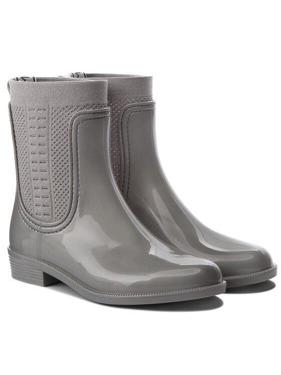 Tommy Hilfiger Tommy Hilfiger Gummistiefel Shiny Rain Boot FW0FW03403 Grau