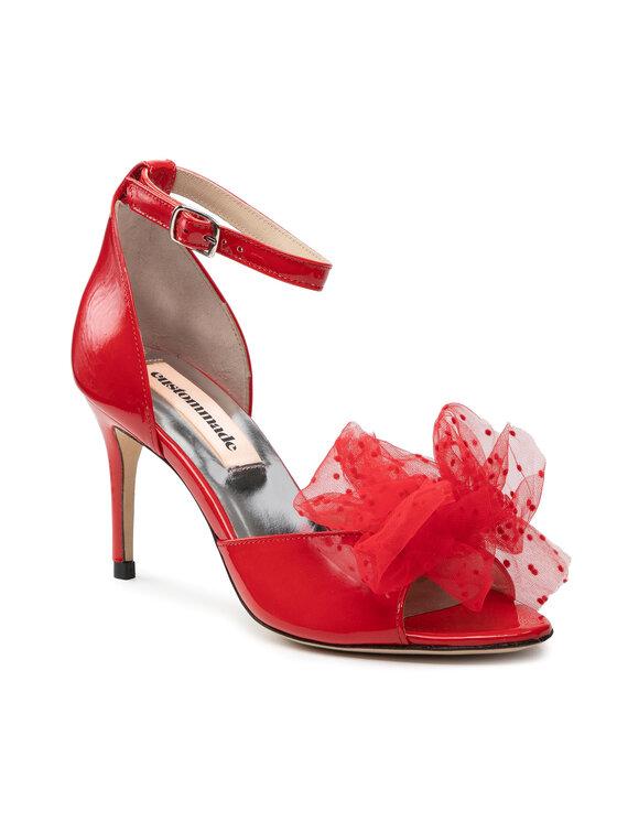 Custommade Basutės Marita Bow 999622031 Raudona