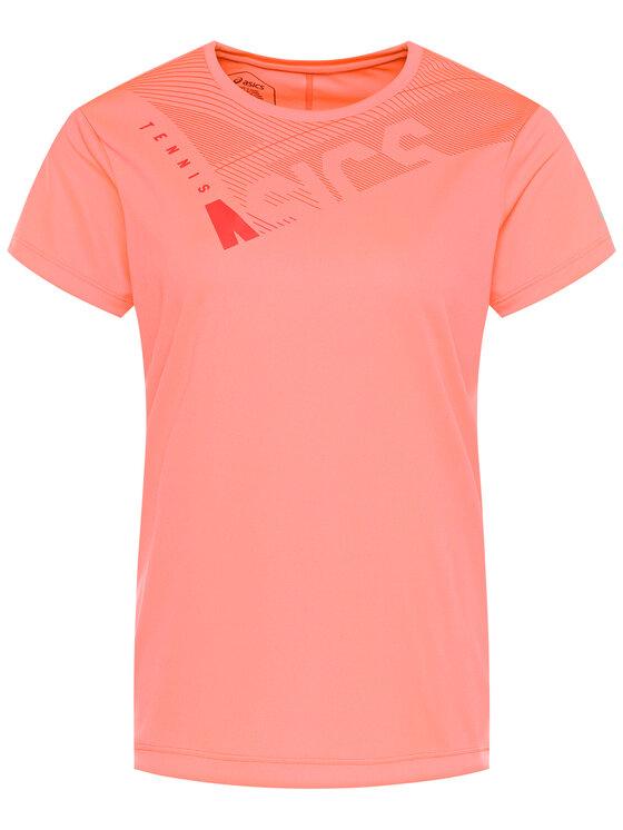 Asics Asics Technisches T-Shirt Practice W Gpx Tee 2042A102 Rosa Regular Fit