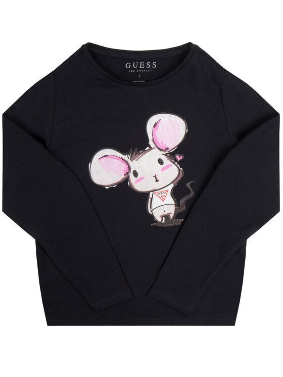 Guess Guess Блуза J01I29 K82K0 Черен Regular Fit