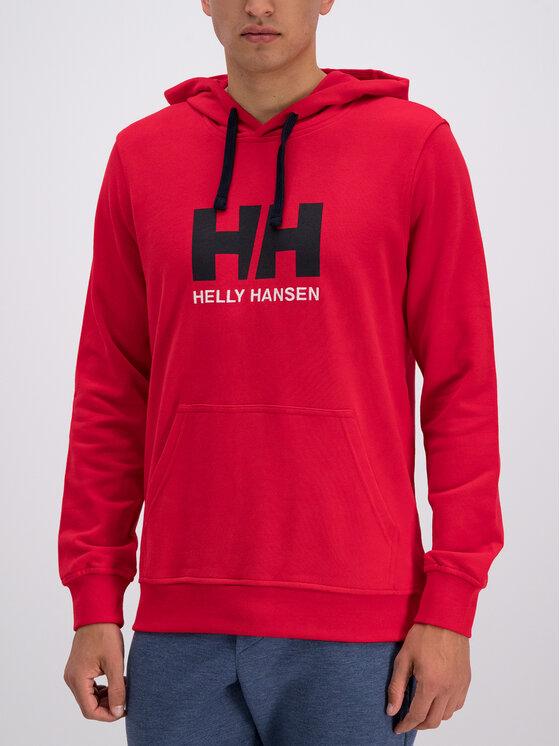 Helly Hansen Helly Hansen Felpa Hh Logo 33977 Rosso Regular Fit