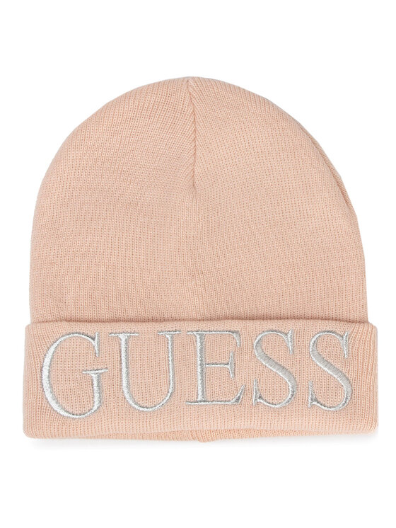 Guess Guess Czapka Not Coordina Ted Hats AW7871 WOL01 Różowy